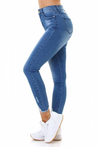 French Cut Jeans Aiana - bleu