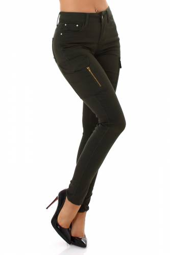Jeans Cargo - khaki
