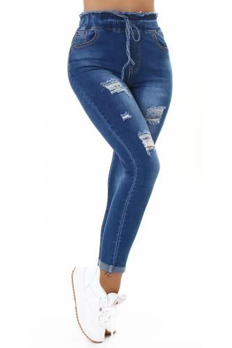 Curvy Jeans - bleu