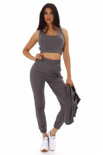 Combinaison de jogging 3 pièce Kia - gris