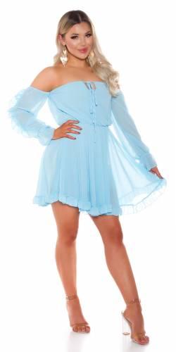Robe babydoll - turquoise