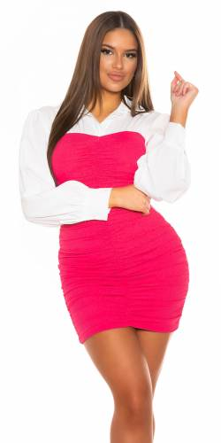 Robe chemise - pink