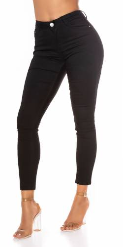 Jeans basic Strech - noir