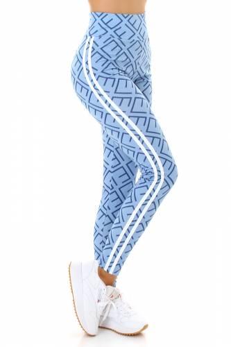 Leggings High Waist - bleu clair