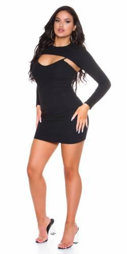 Bodycon Kleid - schwarz