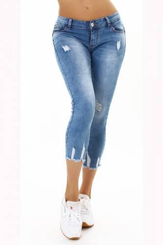 Low Waist Jeans Dalia - blau