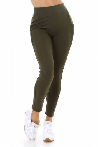 Sport Leggings  - khaki
