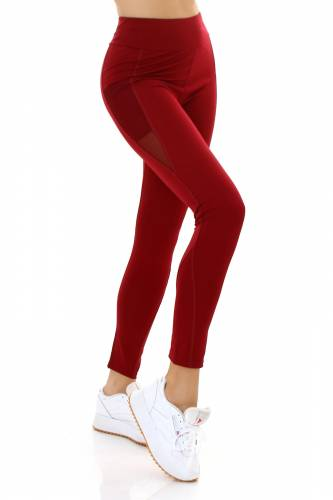 Leggings de sport - bordeux