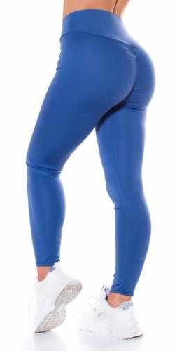 Leggings Push-Up - bleu