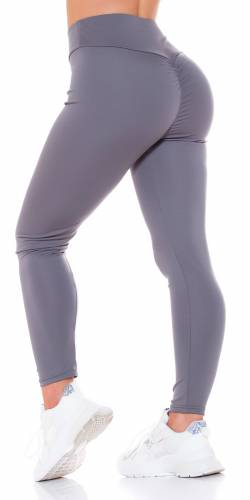 Push-UP Leggings - grau