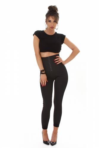 Leggings corset - noir