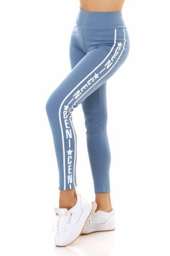 Leggings Anish - bleu