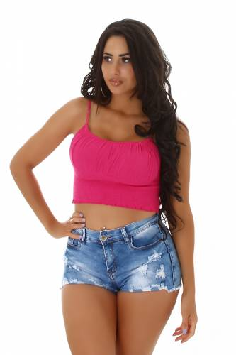 Crop Top Aina - pink