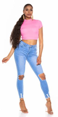 Skinny Jeans Alisa - blau