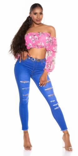 Skinny Jeans Alisea - bleu foncé