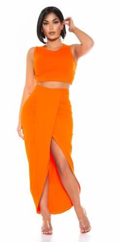 Jupe und top Aira - orange