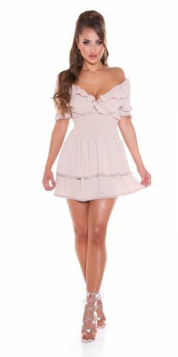 Kleid Alva - beige