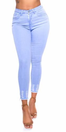 Skinny Jeans Anett - bleu clair