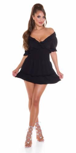 Kleid Alva - schwarz
