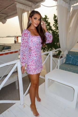 Mini robe Fiona - pink