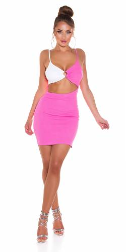 Robe Cut-Outs Ciela - pink