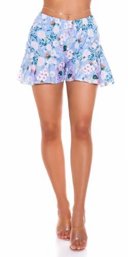 Shorts Clarina - hellblau