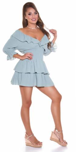 Kleid Chloe - khaki