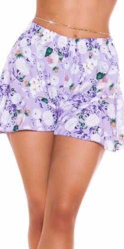 Shorts Clarina - flieder