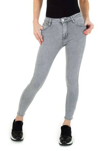 Skinny Jeans Laulia - grau
