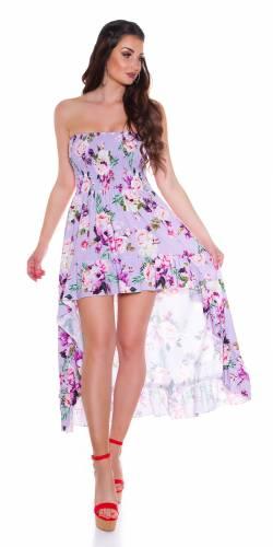 Bandeau Kleid Dena - flieder