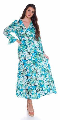 Robe maxi Deana - bleu clair