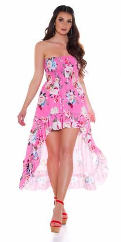 Robe bandeau Dena - pink