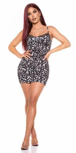 Mini robe Delea - noir