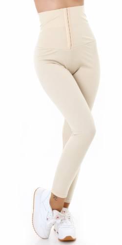 Leggings Elana - beige