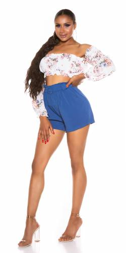 Shorts Diara - bleu