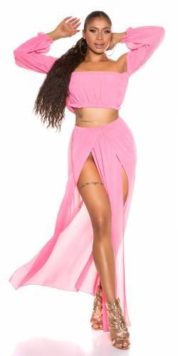 Jupe & Top Elisya - pink