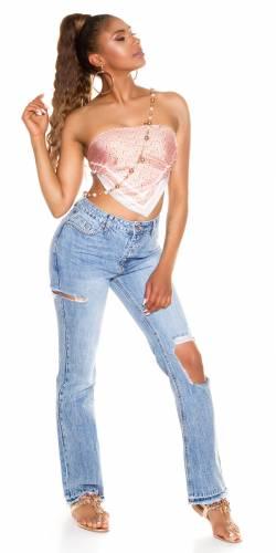 Jeans Bootcut Eloise - bleu