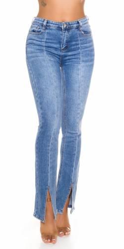 Jeans Bootcut Elva - bleu