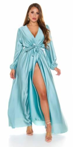 Robe maxi Elyana - turquoise