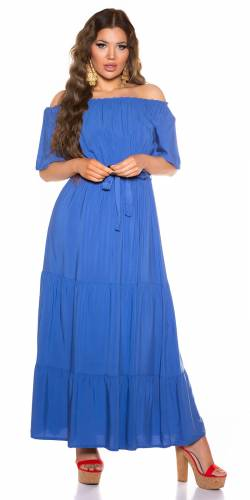 Maxikleid Enola - blau