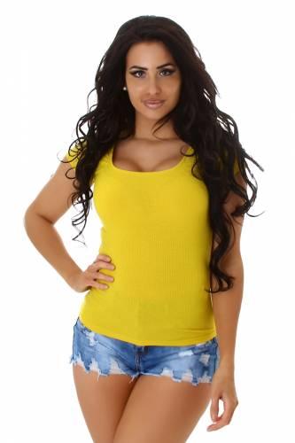 Shirt Esha - jaune
