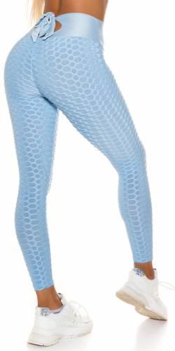 Leggings Push-Up Fien - bleu clair