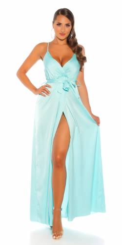 Robe Maxi Frowe - turquoise