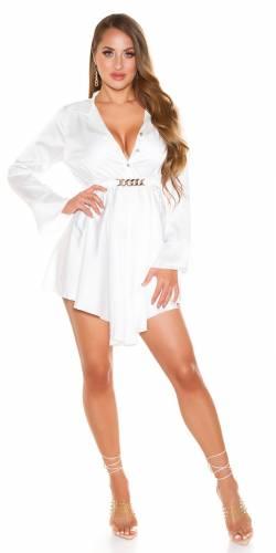 Kleid Evia - weiss