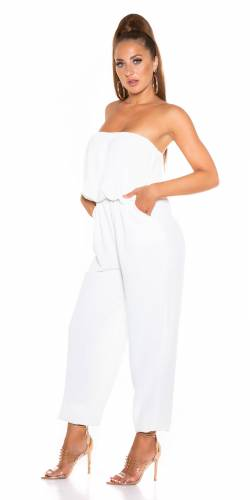 Bandeau Overall - weiss