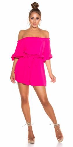Combinaison Carmen - pink