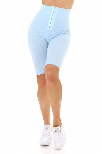 Leggings courts Lina - bleu clair