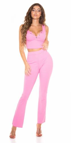 Pantalon & Top Ilma - pink