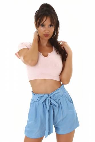 Shorts Kim - bleu clair