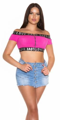 Crop Top Kalyn - pink